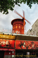 Paris' most famous windmill