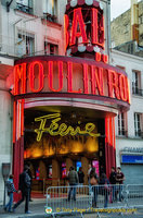 The Moulin Rouge 'Féerie'