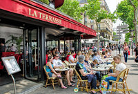 La Terrasse at the Ecole Militaire metro stop, just around the corner from rue Cler