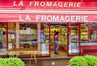 I could not resist La Fromagerie at 31 rue Cler