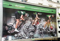 It was Tour de France time and this was the Europcar ad