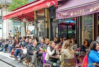More cafes and restaurants on rue Montorgueil