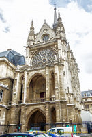 Exterior of Sainte-Chapelle