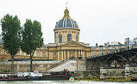 Paris sights from the Seine River