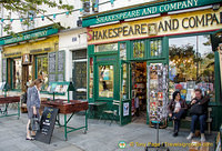 Shakespeare and Company at 37 rue de la Bûcherie in the 5th arrondissement