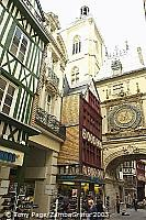 Rouen's famous Great Clock [Rouen - France]
