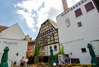 Klosterbrau brewery and beer garden
