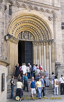 Main entrance to Bamberg Cathedral