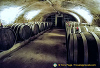 Wine cellar at Dr. Pauly Bergweiler