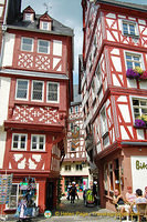 Timber-frame buildings in Bernkastel Marktplatz
