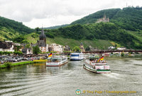 Bernkastel on the Mosel River