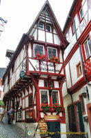 The Pointed House or Spitzhäuschen - one of Bernkastel's most photographed attractions
