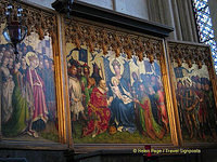 Altarpiece of the Three Kings by Stephan Lochner