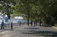Cologne riverfront walk