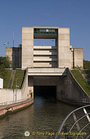 Continental Divide, Main-Danube Canal Locks