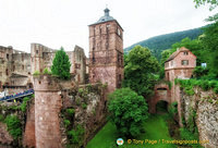 Heidelberg Castle view from the terrace