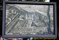 Heidelberg Castle and the Hortus Palatinus garden - what it looked like in the past