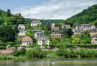 View of Heidelberg from the Neckar River