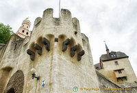 Marksburg castle towers