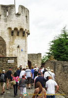 Fuchstor (Fox Gate) is the second medieval gate. It's also the meeting point for guided tours