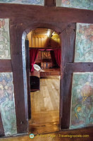 Marksburg - view into the bed chamber