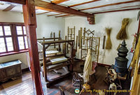 Marksburg - weaving room