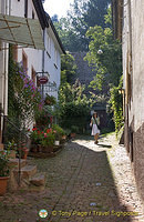 Exploring the alleyways of Miltenberg