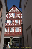 Miltenberg's famous timber-frame buildings