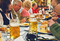 Dinner at the Hofbrauhaus