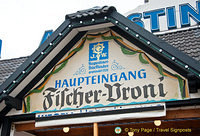 Fischer-Vroni serves Augustiner beer on tap