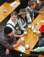 Hofbrau's young visitors