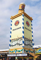 Paulaner beer tower