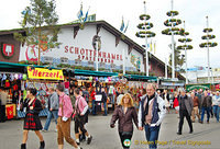 Schottenhamel is the largest of the Oktoberfest tents.