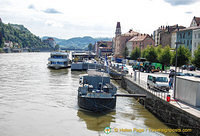 Danube river boats