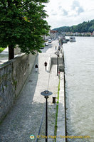 Walkway along the Danube