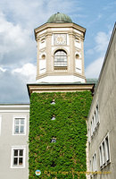 An attractive tower spotted on our Passau walk