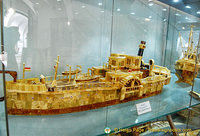 Model of the MS Stadt Passau