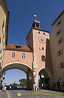 Tramway arch and Gate tower to the Old City, the only one of three to survive