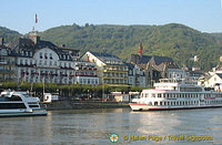 Boppard - one of the main stops for Rhine River Cruises
