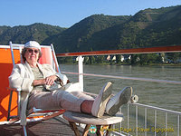 This is what river cruising's all about ..
