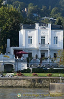 One of many Rhine River hotels