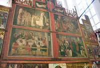 Religious paintings in Jakobskirche