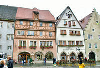 The historic Hotel Gotisches Haus claims to have housed an  emperor and crown prince.