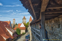 Rothenburg Walls Walk
