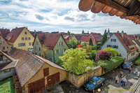View of residential Rothenburg