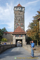 Röder gate and tower