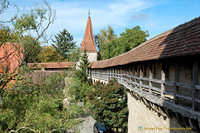Rothenburg north-east wall