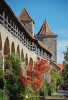 Along Rothenburg north wall