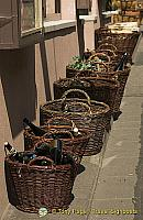 Baskets of wine for sale