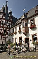 Bromserhof, a half-timbered mansion built in 1559